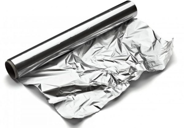 uso del papel de aluminio