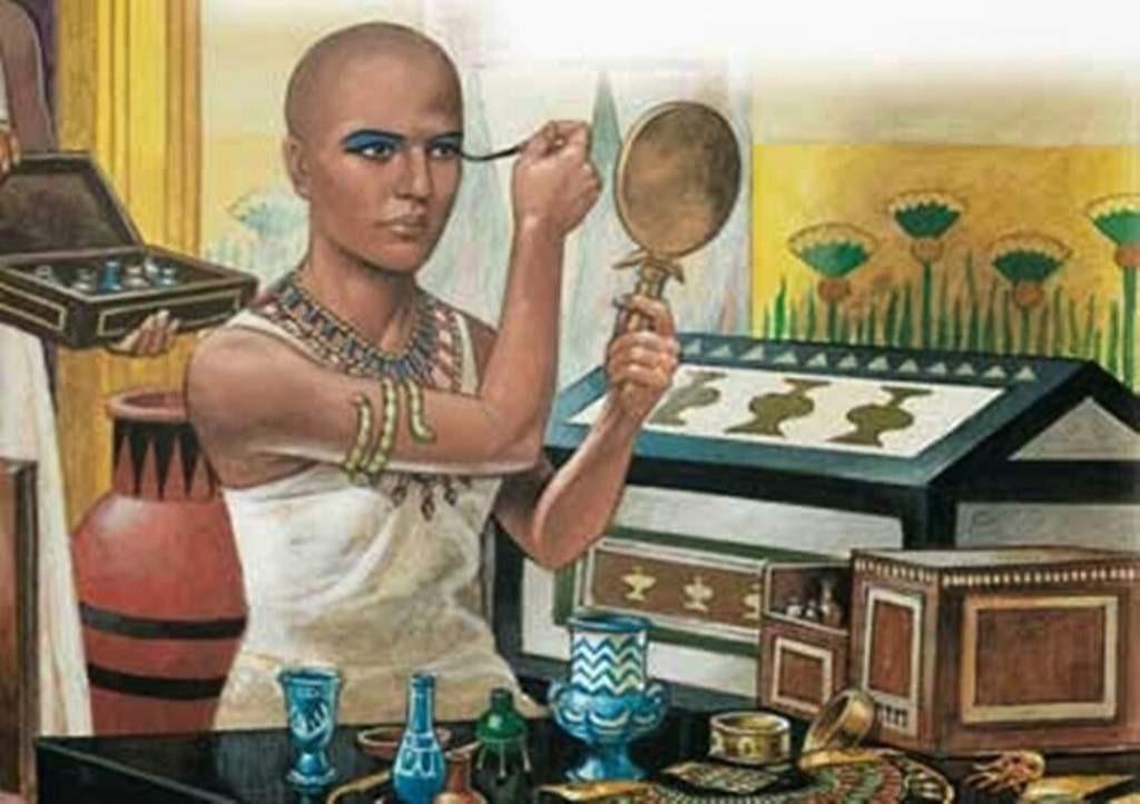 historia del maquillaje - un solo uso