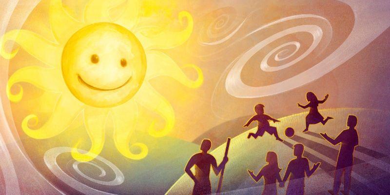 beneficios del sol y el aire fresco