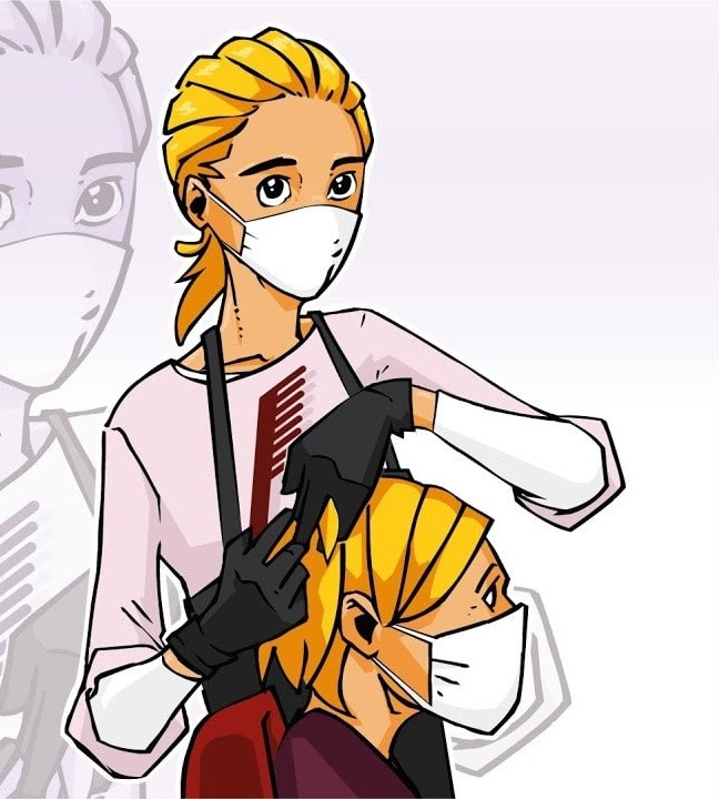 peluquerías y pandemia
